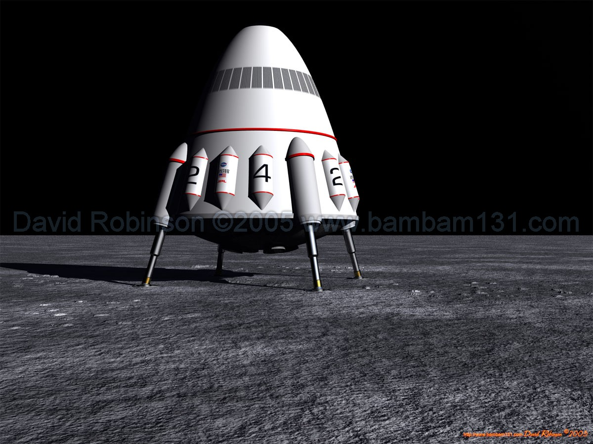 Lunar Lander Design (page 3) - Pics about space