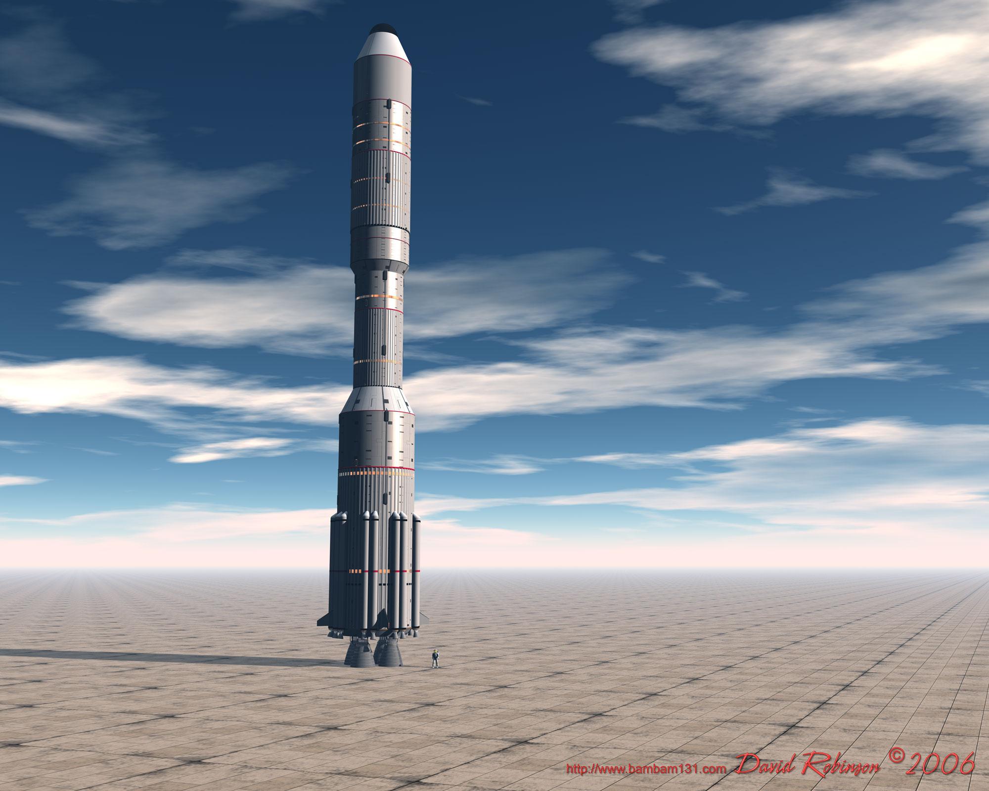 Présentation des vaisseaux spatiaux HLV-Hermes7