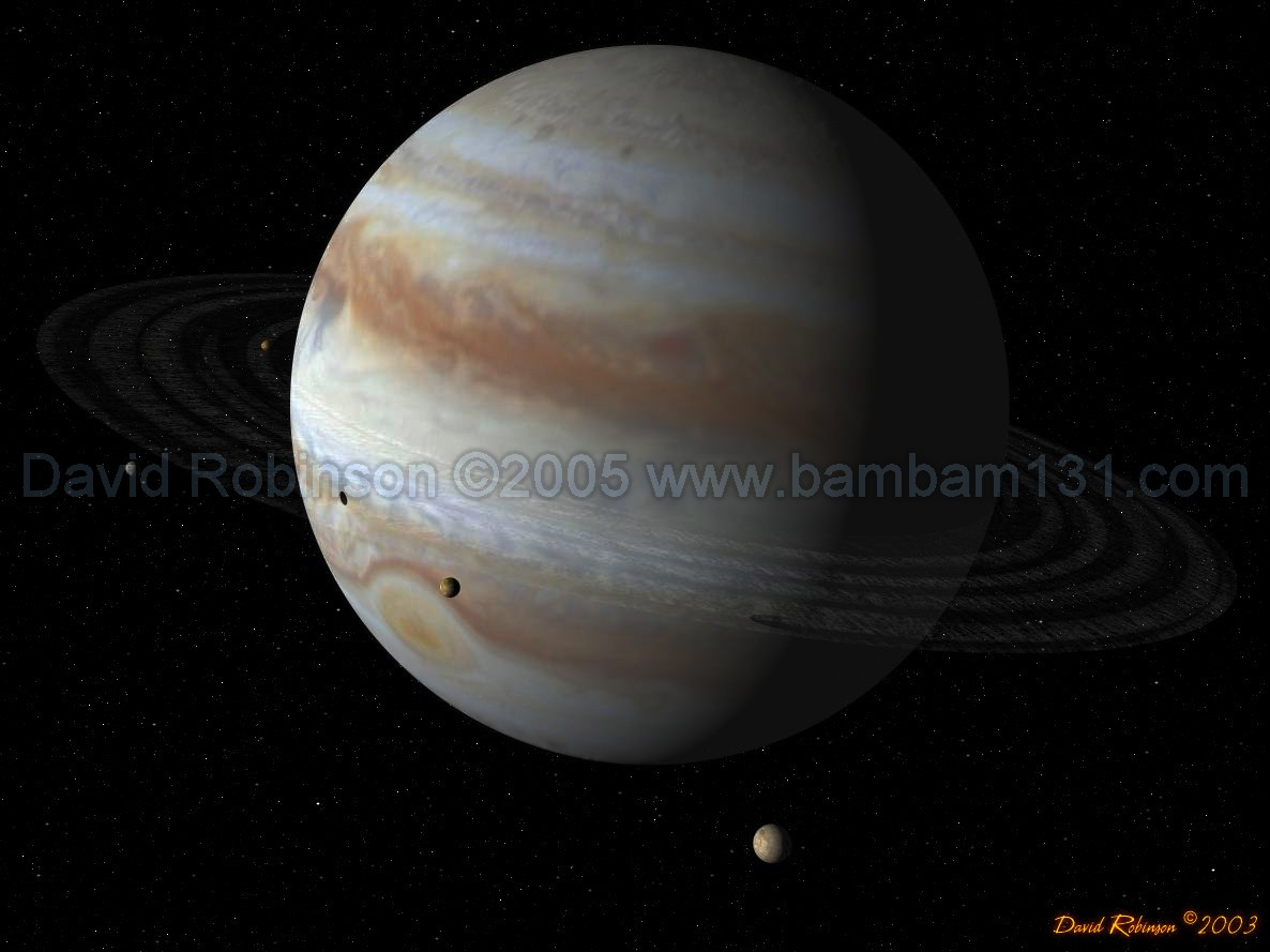 planet jupiter and moons rings - photo #17