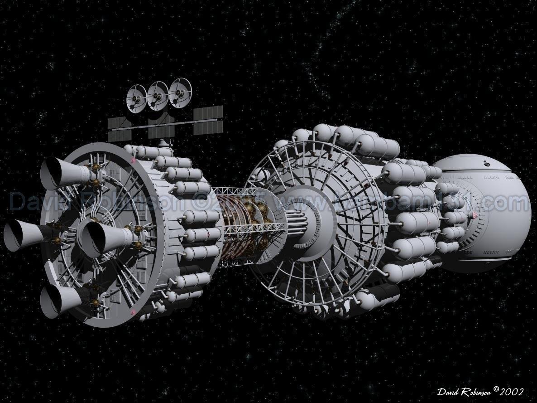 Présentation des vaisseaux spatiaux BF6a