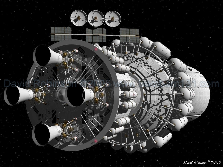Présentation des vaisseaux spatiaux USSI27aaa